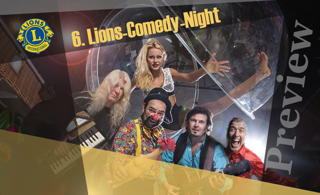Lions Comedy Night (Preview)
